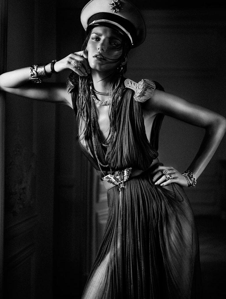 модель Марике Шиммель / Marique Schimmel, фотографы Hunter and Gatti