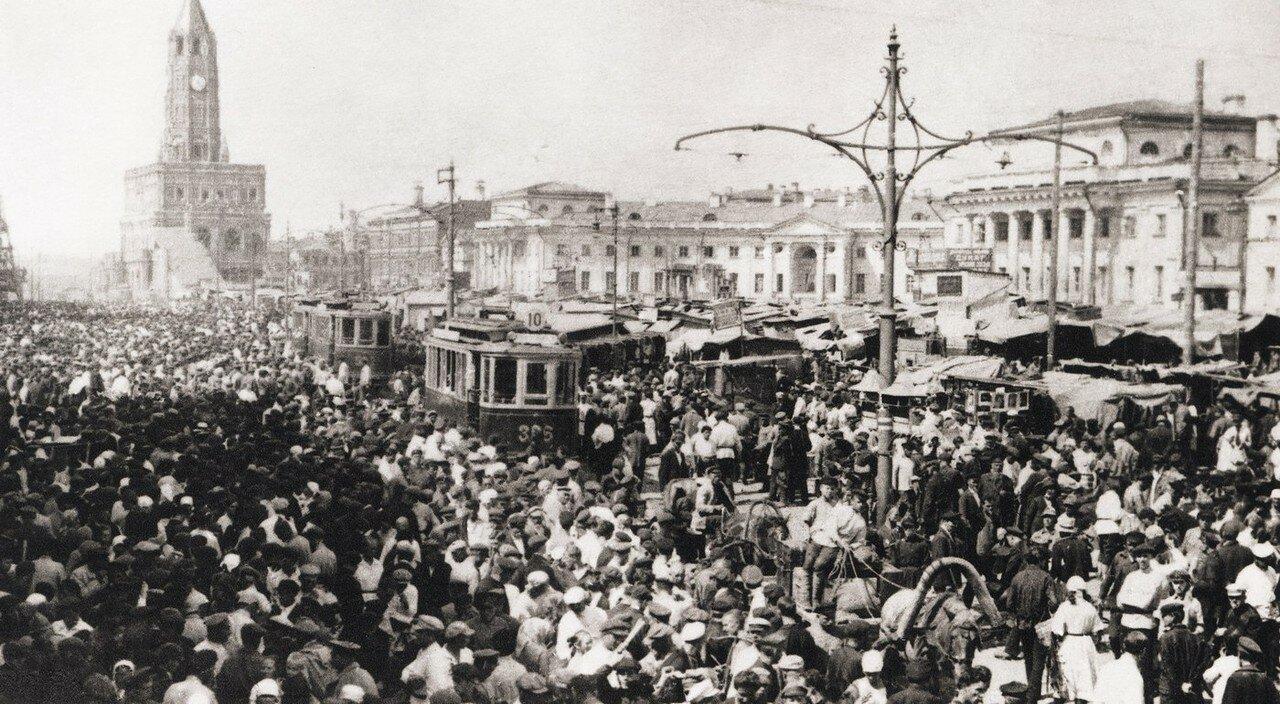 1920-е. Сухаревская башня