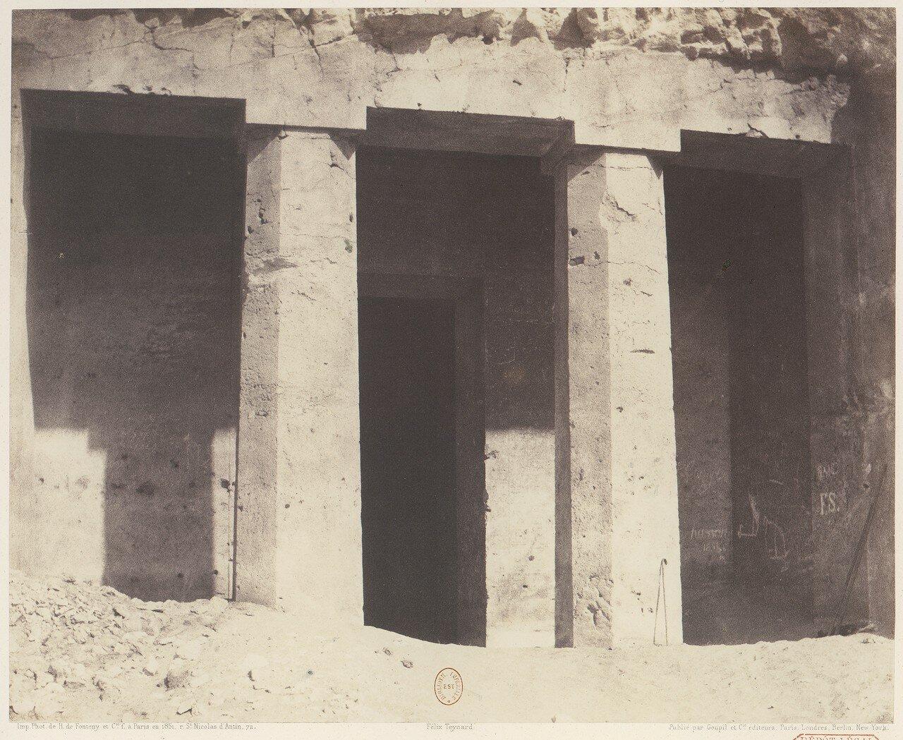 Бени-Хасан. Гробница Аменемхета (Амени)