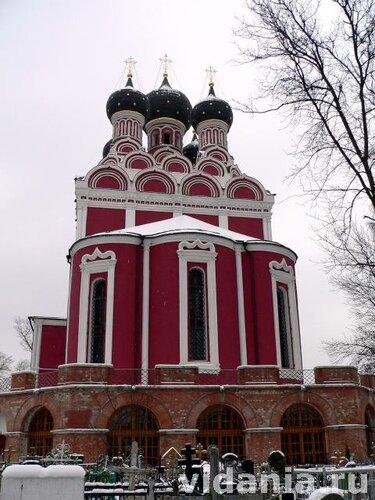 Церковь Тихвинской Божией Матери в Алексеевском