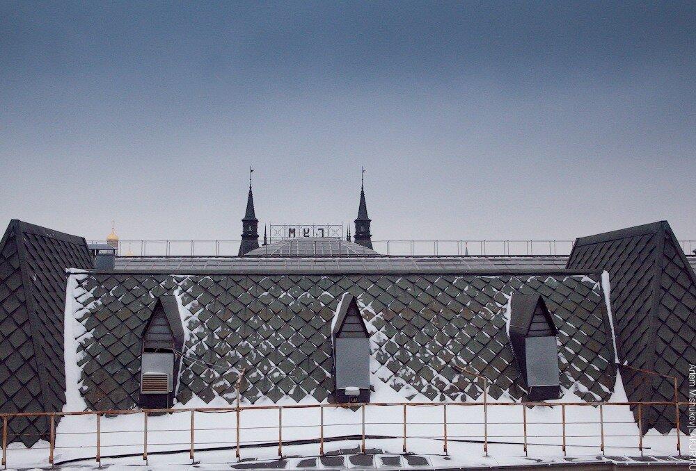москва.гум.зима.крыша.