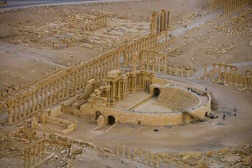 Римский театр в Пальмире. Сирия