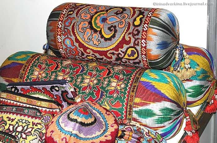 Ладья-2010. Шахрисабская вышивка
