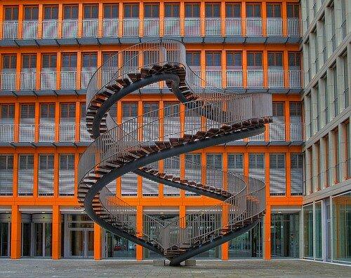 Спиральные, винтовые лестницы
