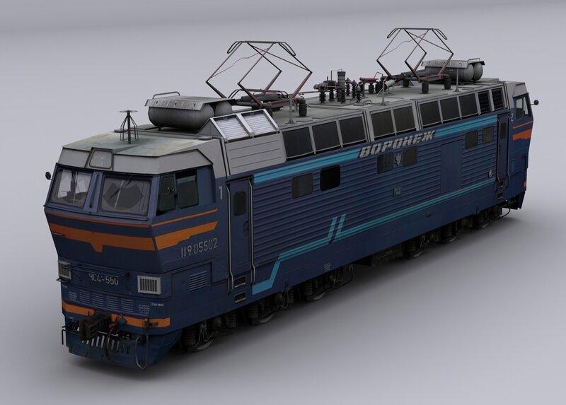 Электровоз ЧС4т-550.