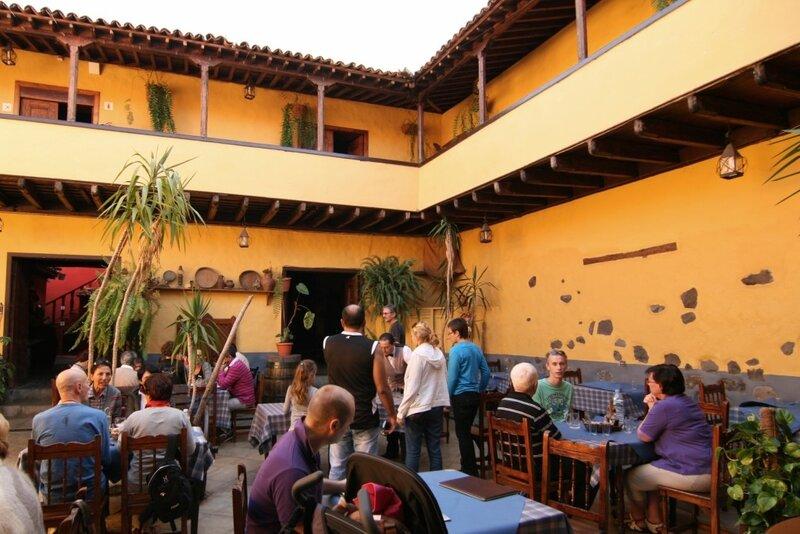 Ла Оротава, Тенерифе, ресторан в котором нас не ждали