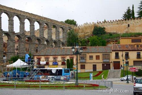 сеговия, испания, акведук