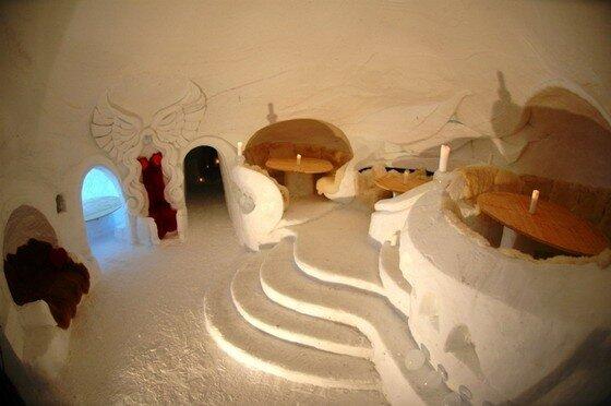 Отель Iglu Dorf. Швейцария