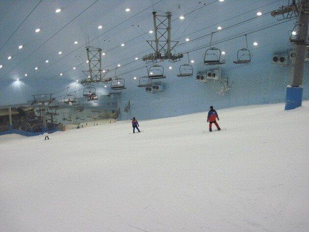 Скай Дубай (Ski Dubai)