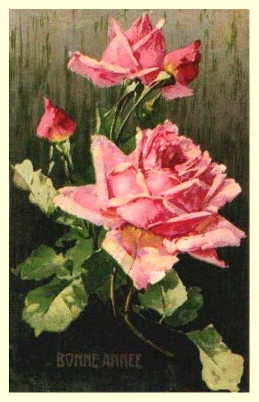 К. Кляйн. Роза. С Новым годом !