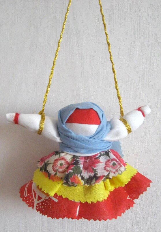 Кукла колокольчик своими руками фото