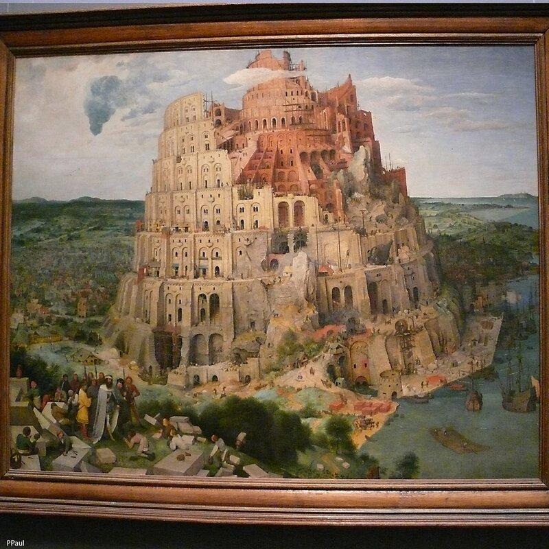 """Питер Брейгель """"Вавилонская башня"""". 1563 г."""
