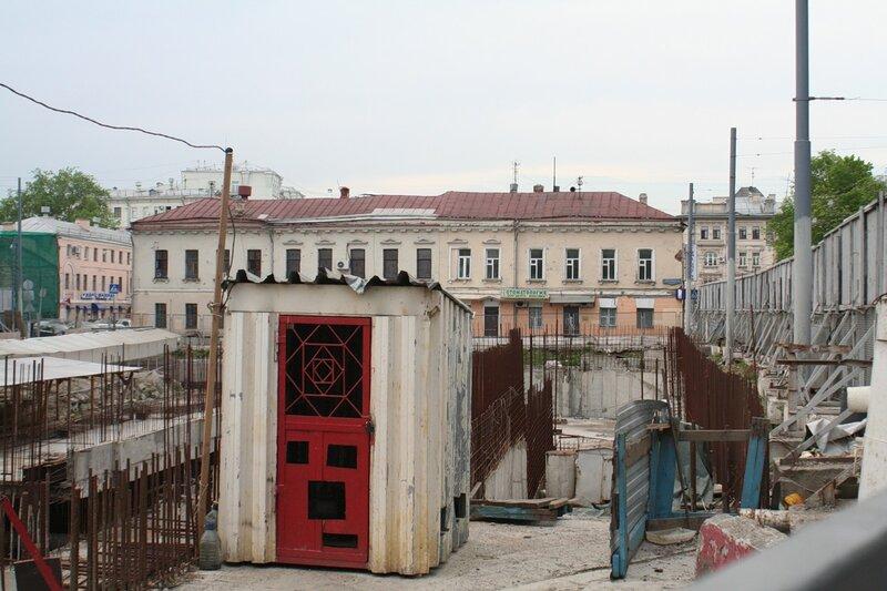 Хохловская площадь. 2010 год.
