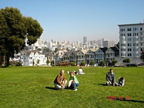 Сан-Франциско. Семь цветных вдов.