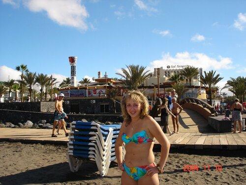 Комфортная осень на Тенерифе. Пляжные радости.