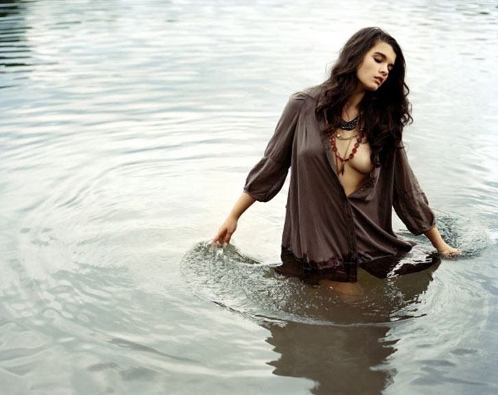 модель Crystal Renn / Кристал Ренн, фотограф Matt Jones