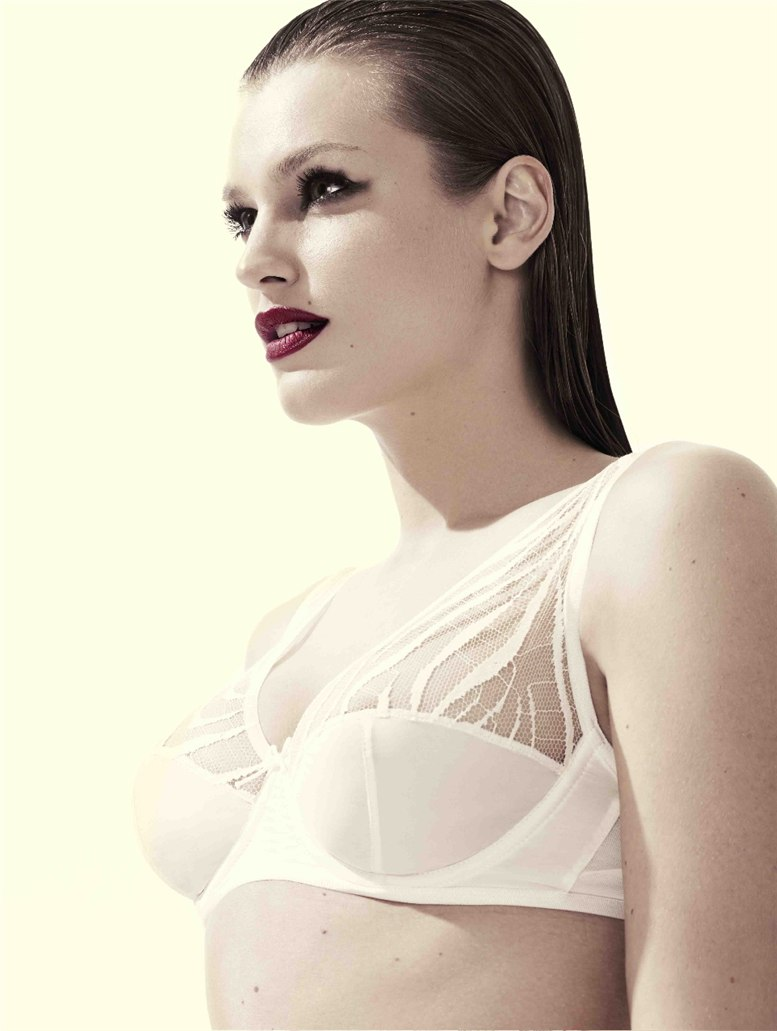 Адела Капова / Adela Capova for Damaris-Mimi Lingerie autumn-winter 2010