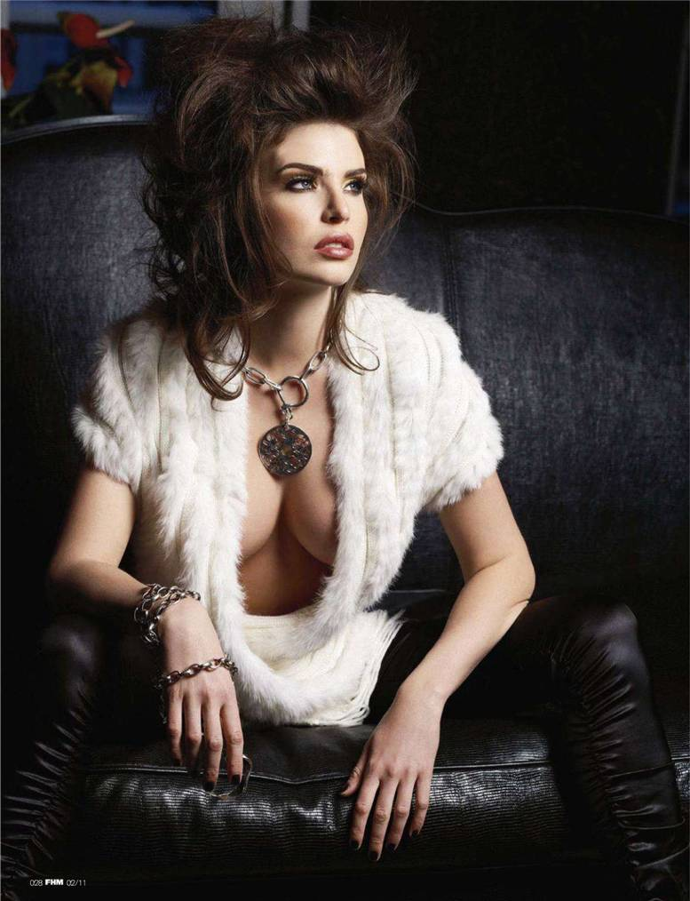 модель Юлия Лескова / Julia Lescova
