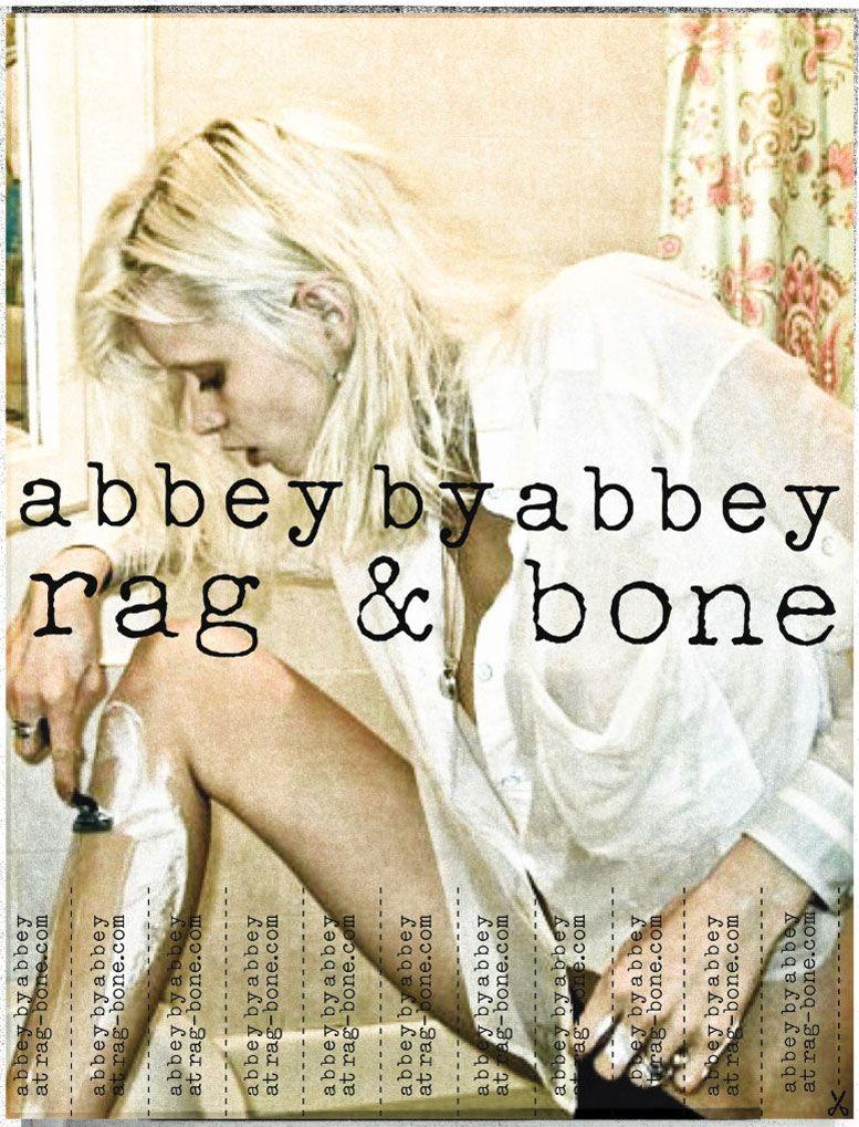 Эбби Ли Кершоу / Abbey Lee Kershaw for Rag and Bone spring 2011