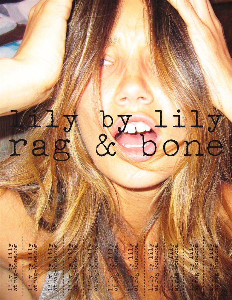 Лили Олдридж / Lily Aldridge for Rag and Bone spring 2011