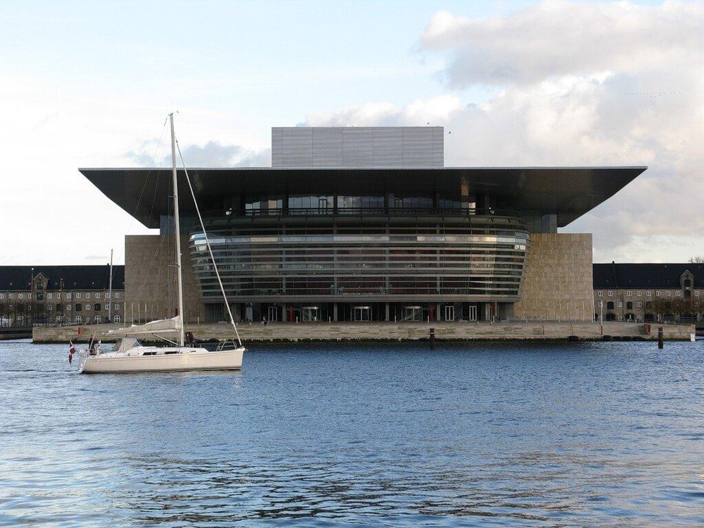 Copenhagen. Opera house (Operaen på Holmen)