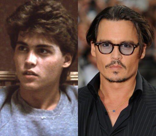 Большая разница.Johnny Depp