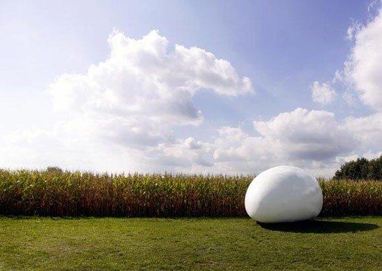 дом яйцо