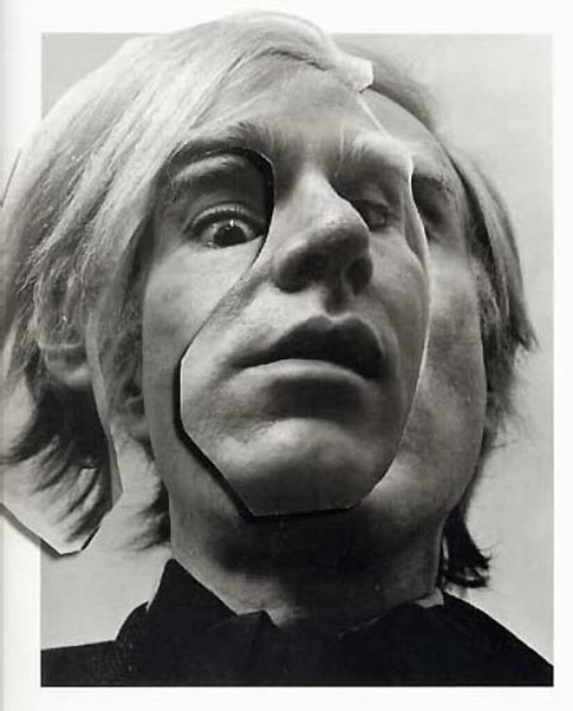 Arnold Newman - Andy Warhol, New York (1993)