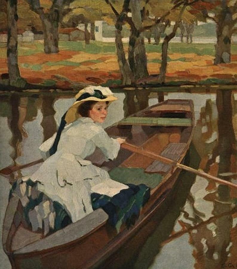 Без названия. Лео Путц (1869-1940)