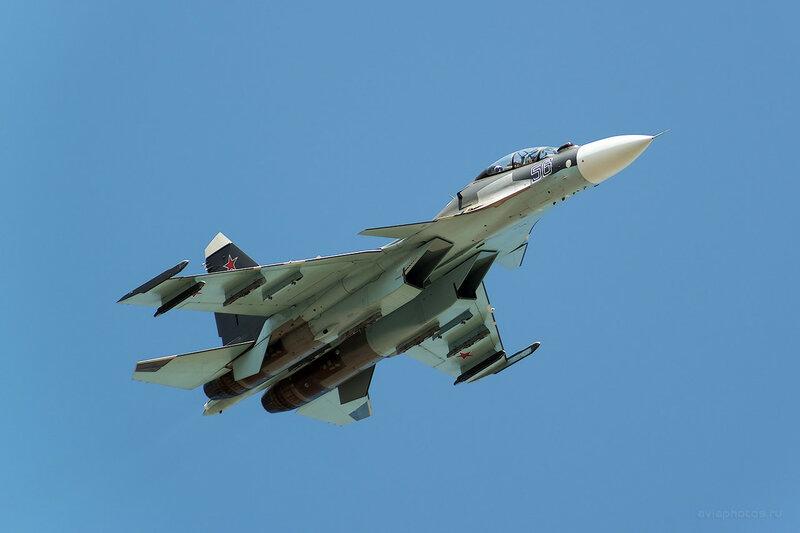 Сухой Су-30СМ (RF-93666 / 56 синий) D807037