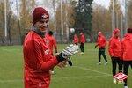 Спартак готовится к матчу с Динамо