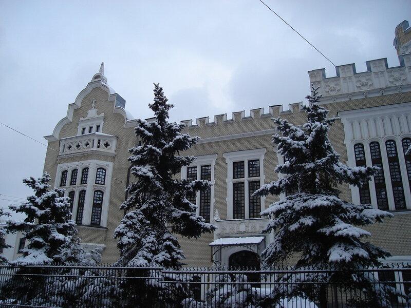 Дом барона Кнопа, 1900 г. арх. К.В.Трейман