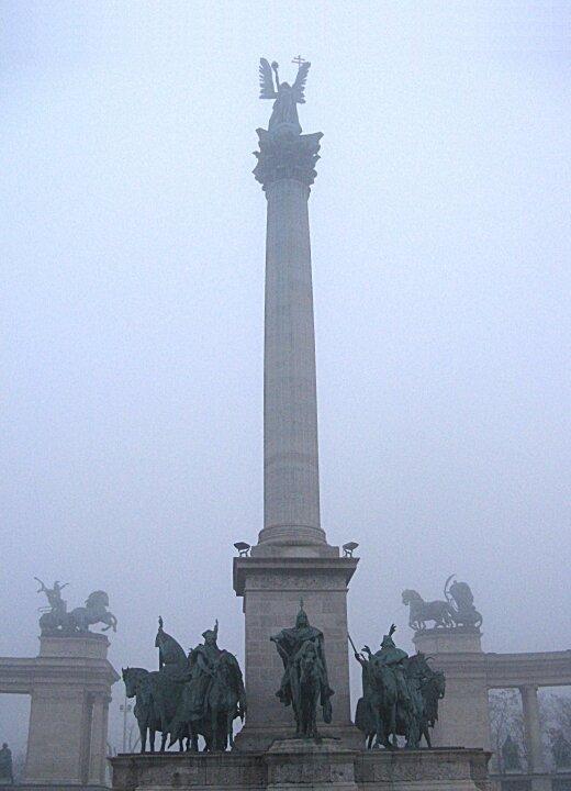 Площадь Героев (Hősök tere), Будапешт