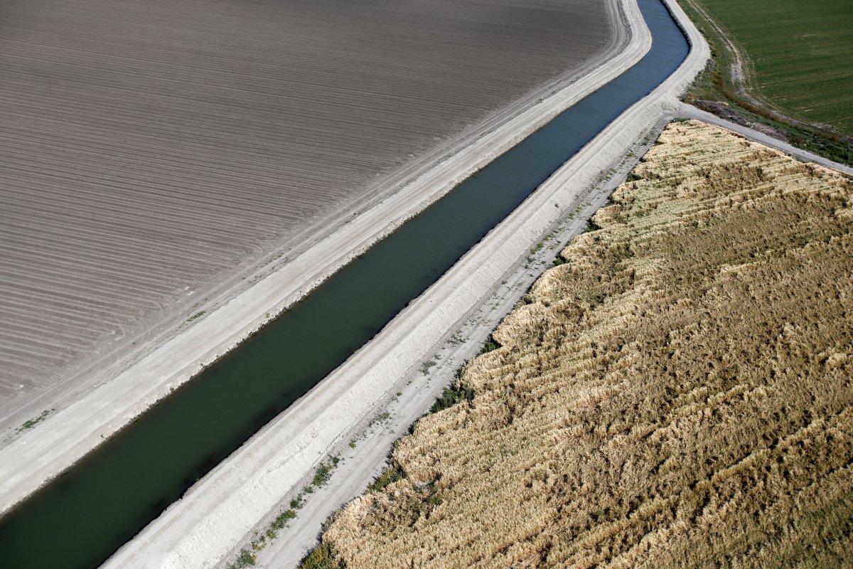 15. Калифорнийская засуха, затронувшая до 98 процентов жителей штата, продолжается четвертый год. Не