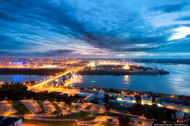 Нижний Новгород с высоты (43 фото)