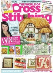 Журнал The World of Cross Stitching №191 2012