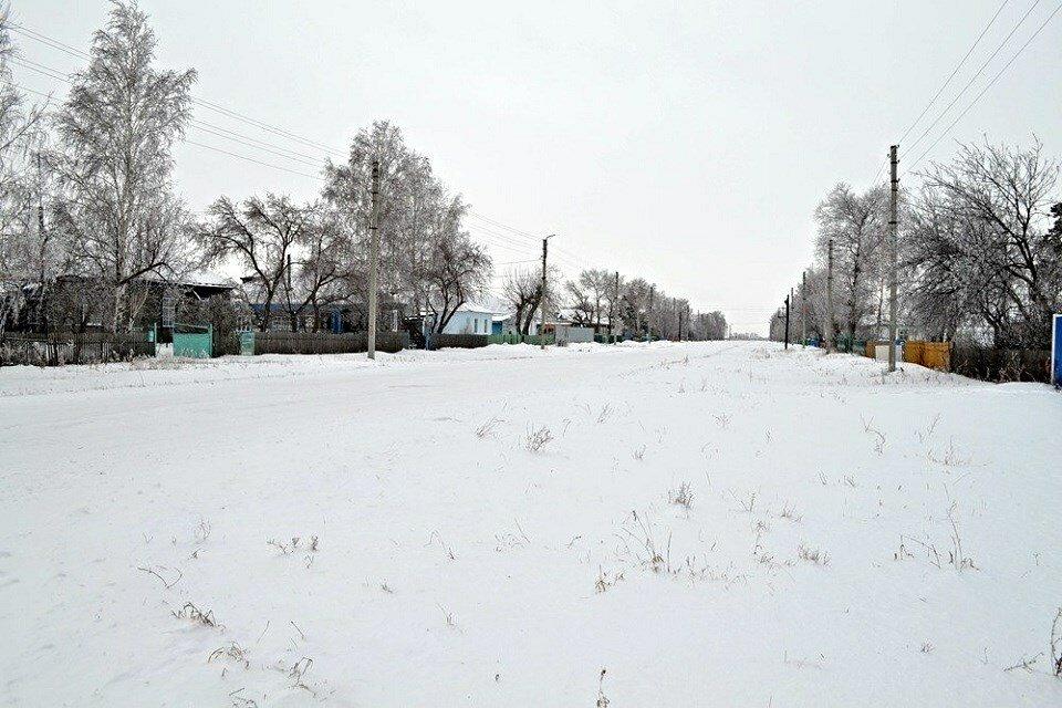 улица в деревне зимой