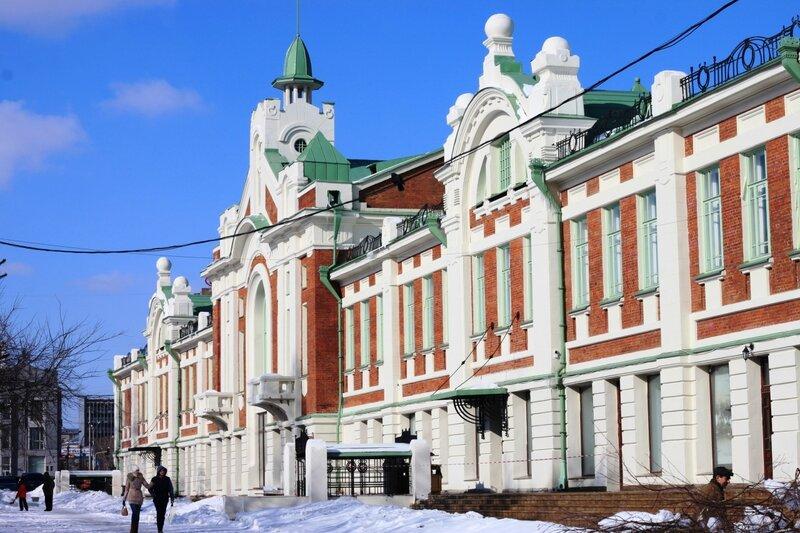 Новосибирск, краеведческий музей (Novosibirsk, museum)