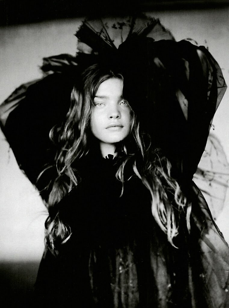 vodianova by Paolo Roversi