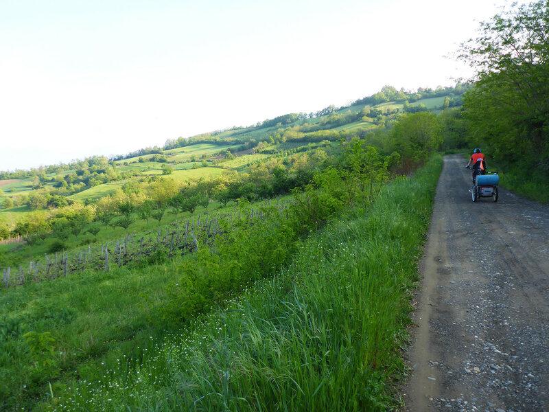 велопоход по горам в сербии пейзаж