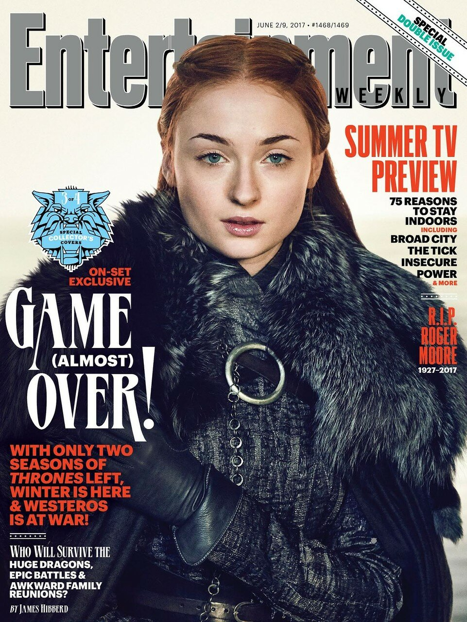 Фотосессия Sophie Turner & Maisie Williams ( EW Magazine, июнь 2017)