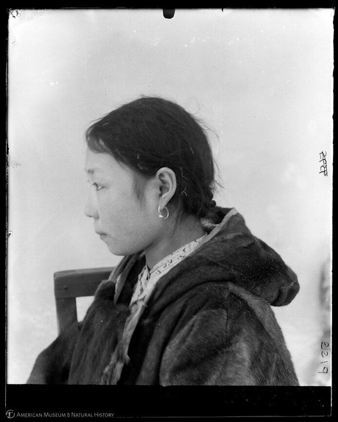 Чукотская женщина, Сибирь, 1900