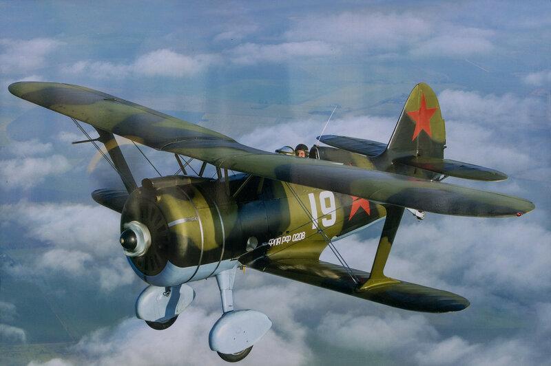 Советский истребитель И-153 бис