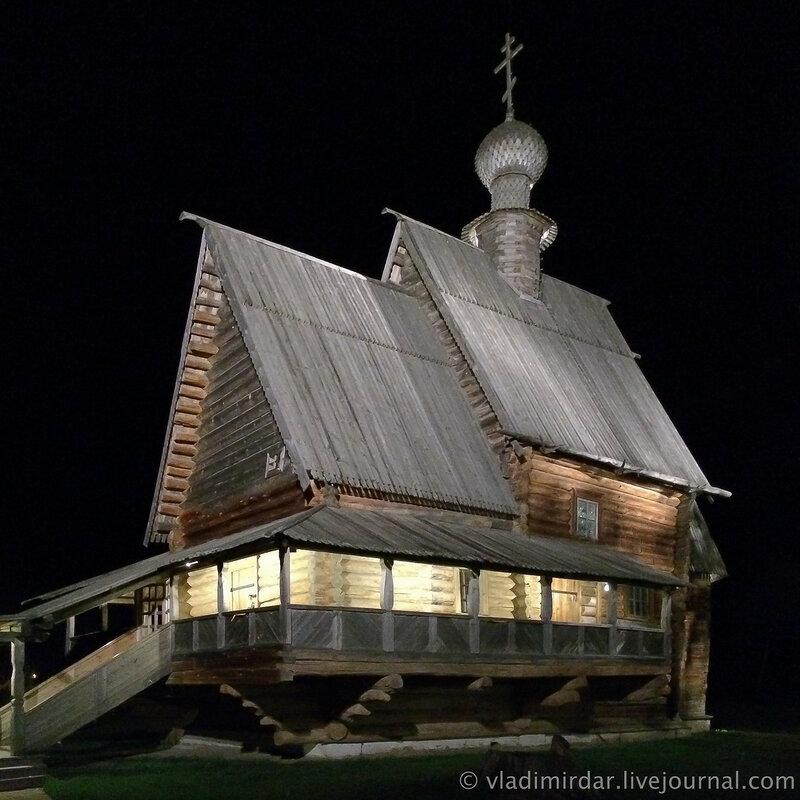 Никольская церковь. Суздальский кремль.