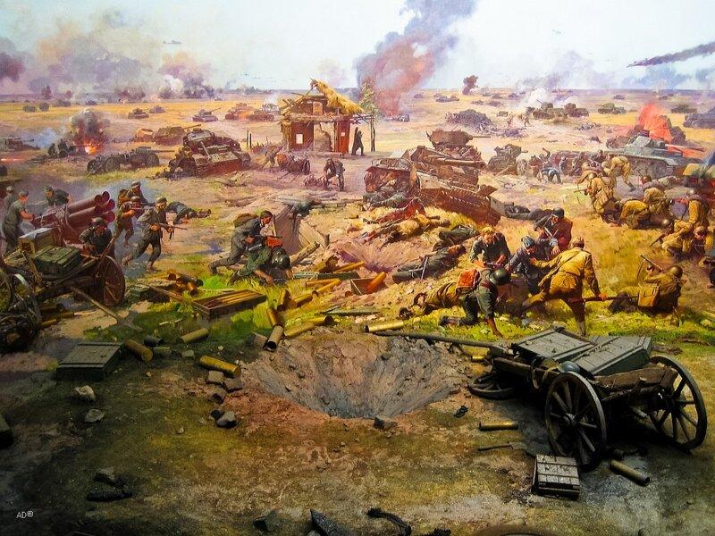 Диорама Курская битва