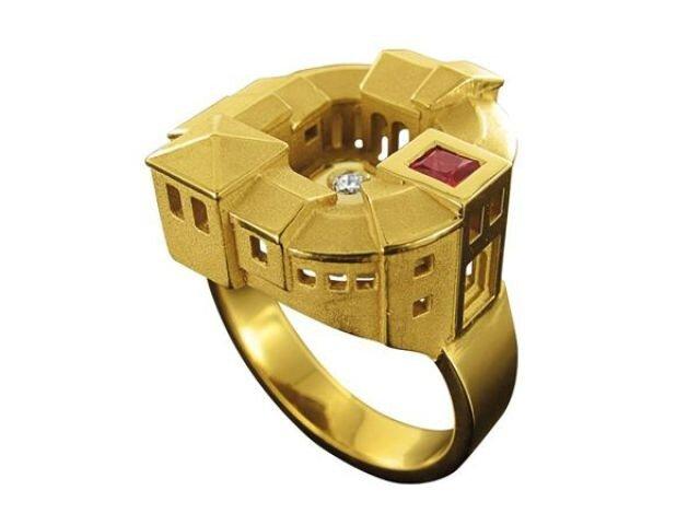 Удивительные «архитектурные» кольца