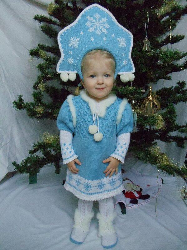 Новогодние костюмы для девочек 3 лет фото своими руками
