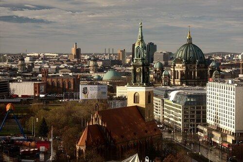 Небо над Берлином. Утро