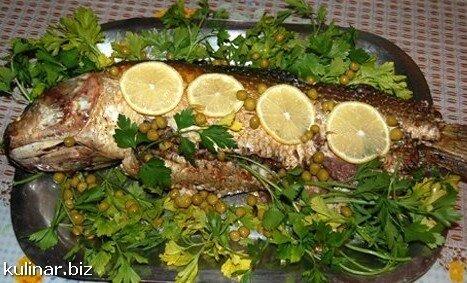 рецепт фаршированного пеленгаса в духовке
