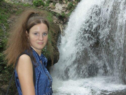У водопада Чёртова мельница